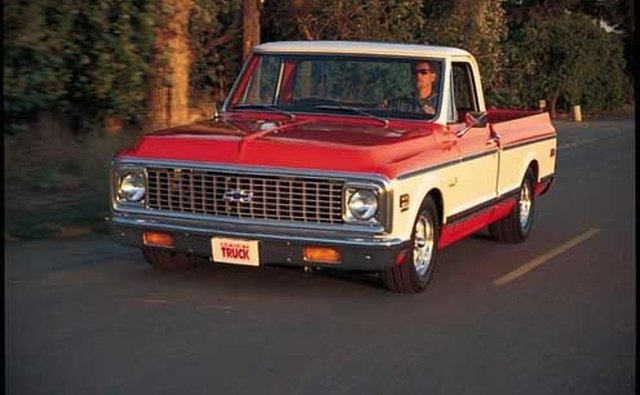 The 1972 Chevrolet Cheyenne Fleetside