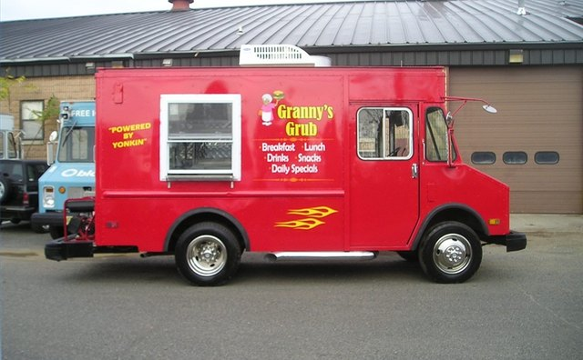 1988 Chevrolet food service step van