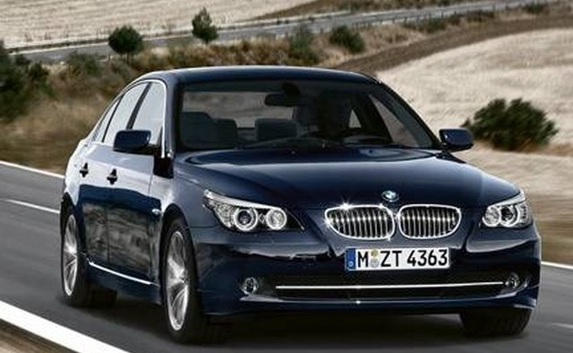 The 5 Series also is offered as a station wagon.