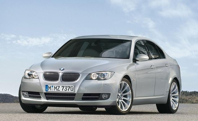 The BMW 535i measures about 10 inches longer than the 335i.