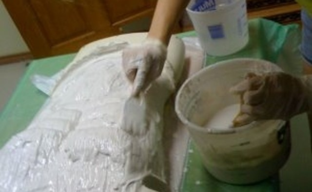 Make Sure the Wet Plaster is Smoothed