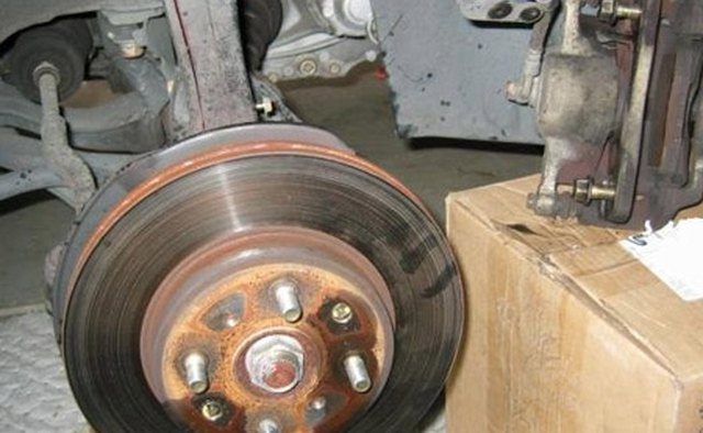 How to change brake pads on a Honda Pilot | It Still Runs