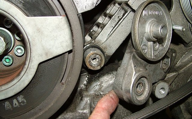 A seized belt tensioner is a common problem [whiskymac/Flickr.com].