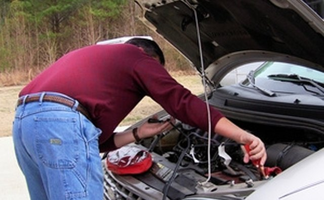 Jump-starting a car battery