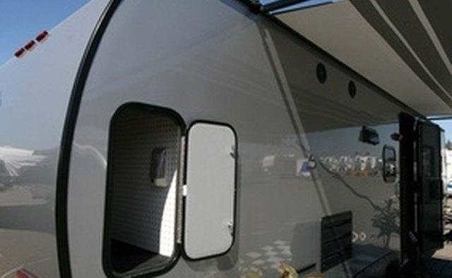 Tear drop travel trailer