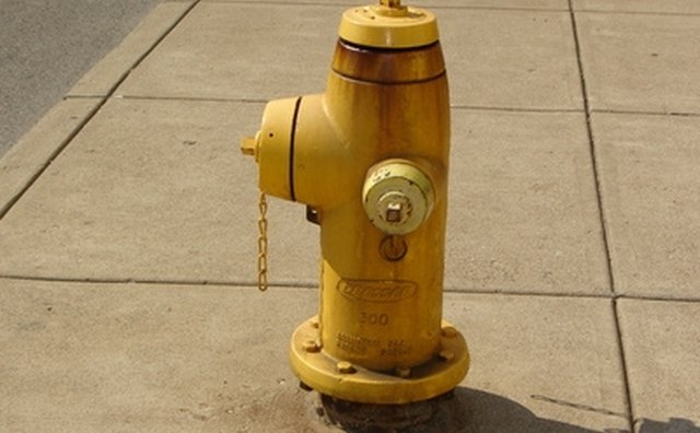 Parking by a fire hydrant is illegal.
