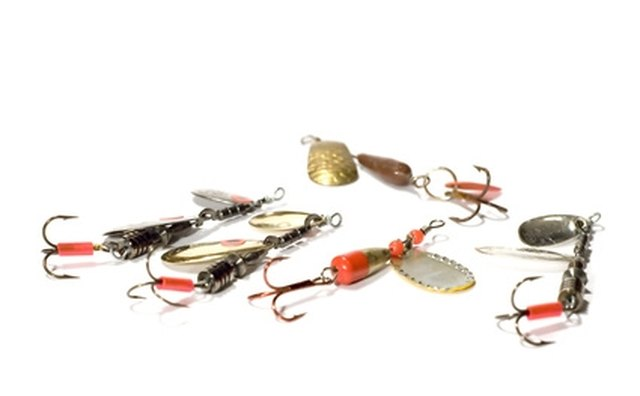 Various spinner baits.