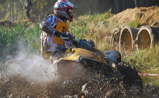 Pennsylvania allows all-terrain vehicles to ride on specific trails at state parks.