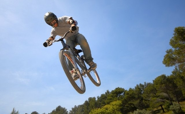 Mountain bikes are designed to take punishment.