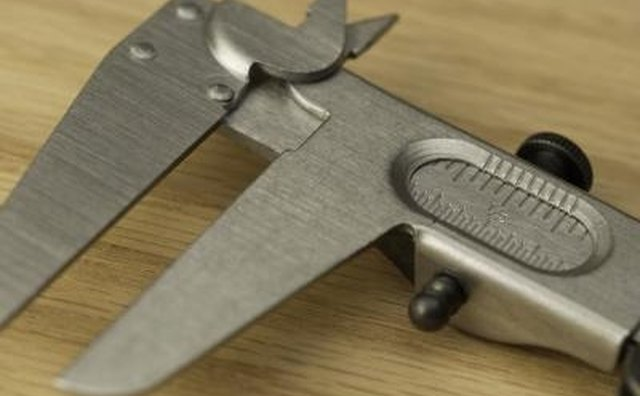 A vernier caliper is very useful when measuring bolt sizes.