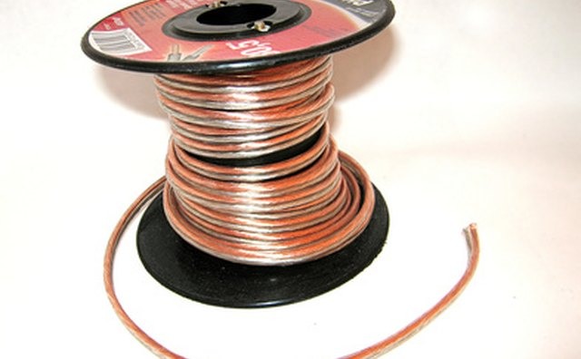 Contact between speaker wires can cause unintentional short-circuiting.