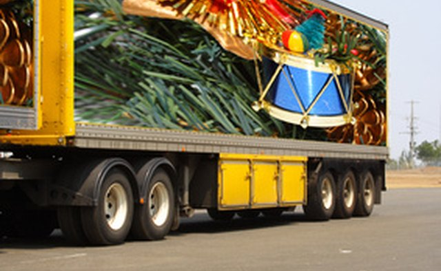 A tractor pulling two trailers is referred to as a double bottom.