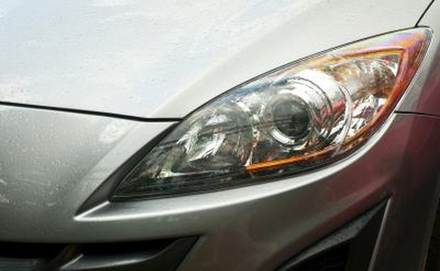 Headlights that shine on full brightness but dim when you turn the ignition key can indicate a bad starter.