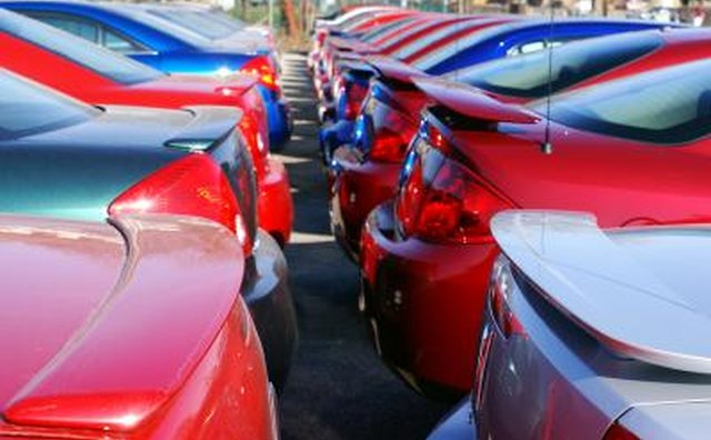 Unsold cars go into storage temporarily.