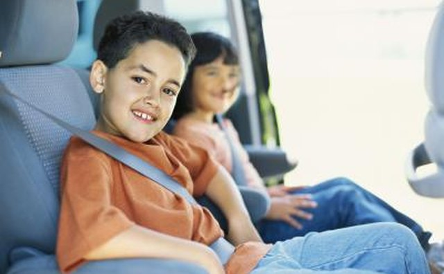 Children in seat belts
