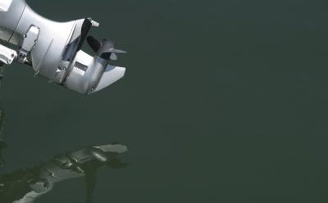 Replacing the propeller can change the performance of your boat.