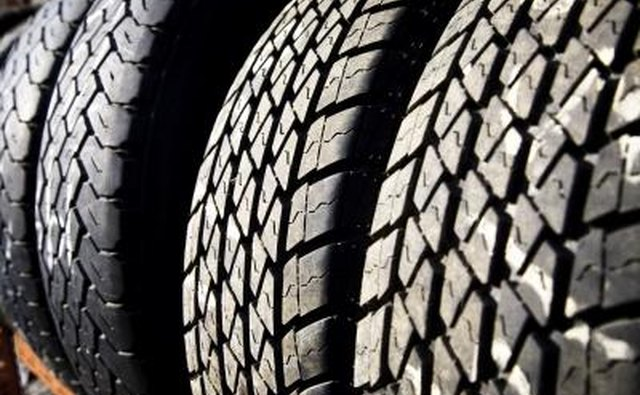selection of tires