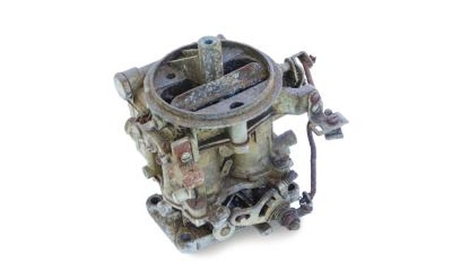 Old carburetor.