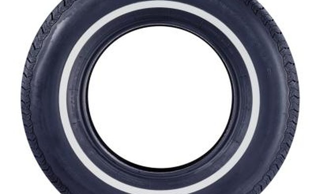 Rubber is naturally white, but dyed black for tires.