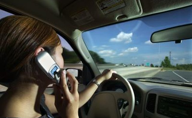 Distracted drivers cause accidents.