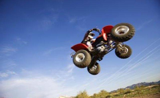 ATV in air