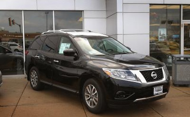 2013 Pathfinder at dealership