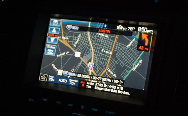 Modern pickup trucks are available with navigation systems.