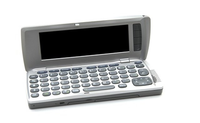 Smartphone with full keyboard.