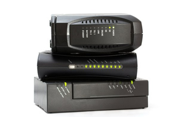 Broadband modems are provided by your Internet service provider.