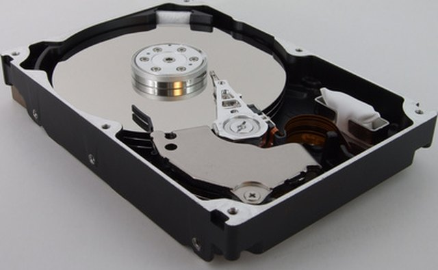 Hard drives use magnetic disk storage for data.