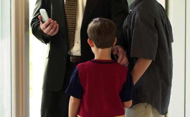 Kids now compete with cell phones for parental attention.