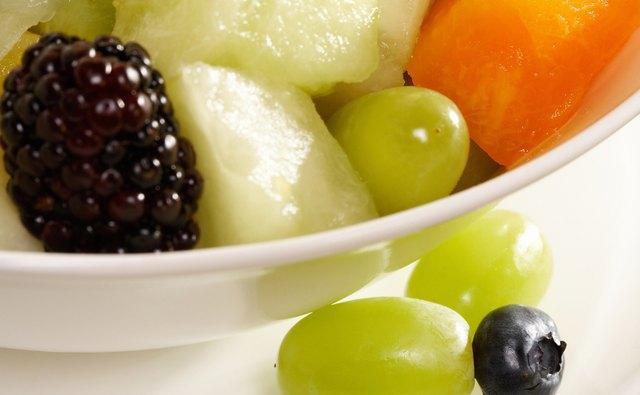 Kids love fruit salad as a snack.