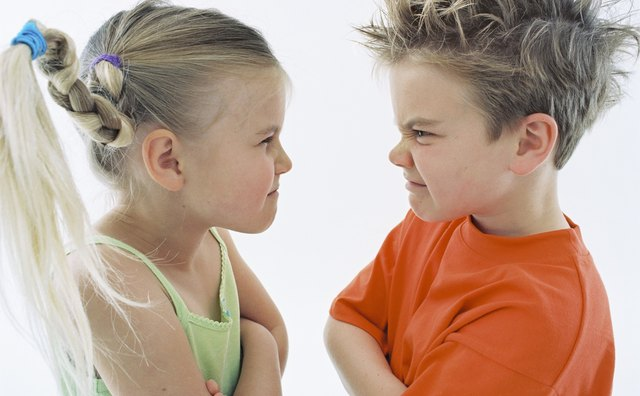 Conflicts are often unresolved without an adult presence.