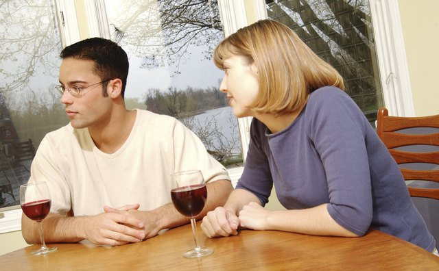 When a couple has difficulty discussing sensitive issues, conflict can develop.