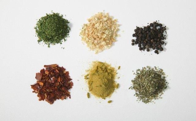 Spice colors should be vibrant.