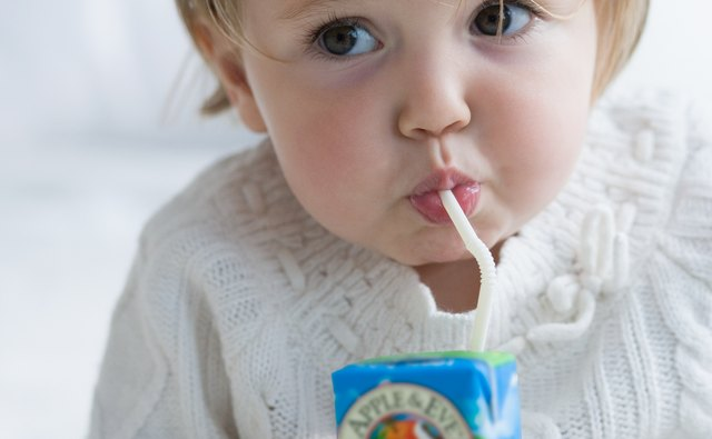 Keep your feverish toddler hydrated.