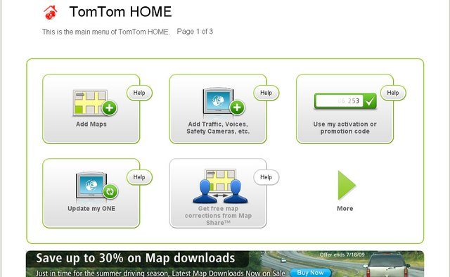 TomTom Home.