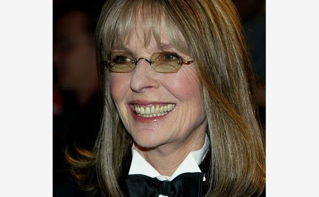 Diane Keaton continues to defy convention with her menswear-inspired clothing choices.