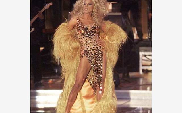 RuPaul performed in a Diana Ross tribute in 2000.