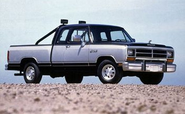 The debut 1981 Dodge Ram.