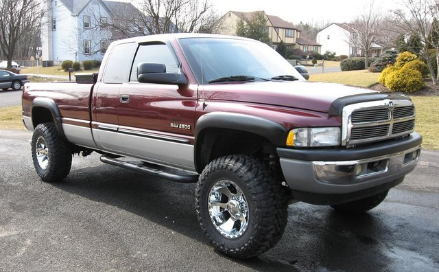 The 2001 Dodge Ram 2500 4X4 model body style is virtually the same as the 1994 models.