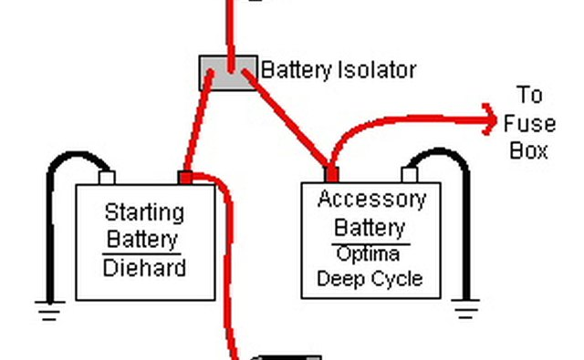 How Does A Battery Isolator Work It Still Runsrhitstillruns: Multiple Battery Isolator Wiring Diagram At Gmaili.net