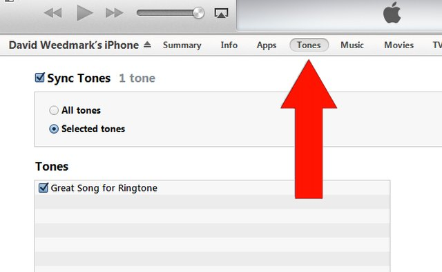 Sync your iPhone with iTunes.