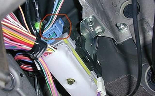 Dodge brake controller harness location