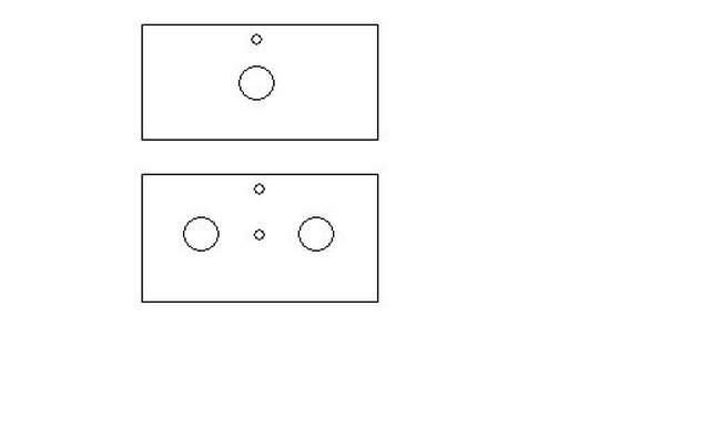 hole alignments for mounting components