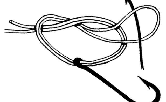 How to tie a fishing hook gone outdoors your adventure for How to tie a fishing hook and weight
