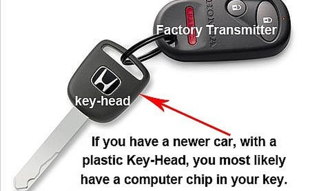 All Honda vehicles after 2004 have a computer chip in the key