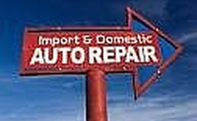 All auto repair shops are required to register with the BAR