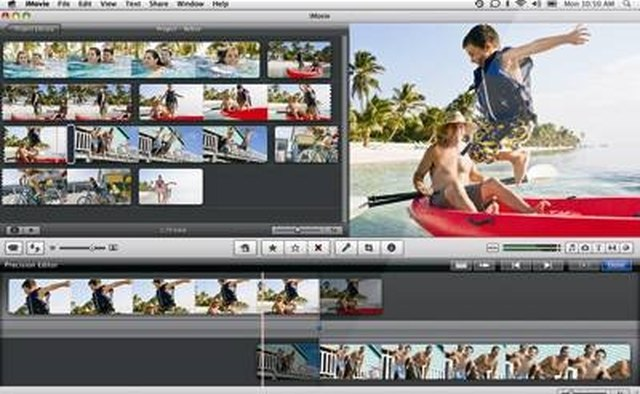 iMovie: Apple's basic video-editing software
