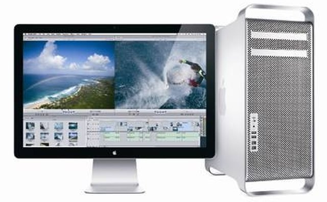 Macs are perfect for working with video.